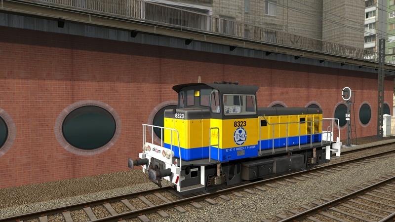 Locomotives V 211 et V 212 entreprises ferroviaires Giraud40