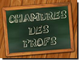 Chambres des professeurs