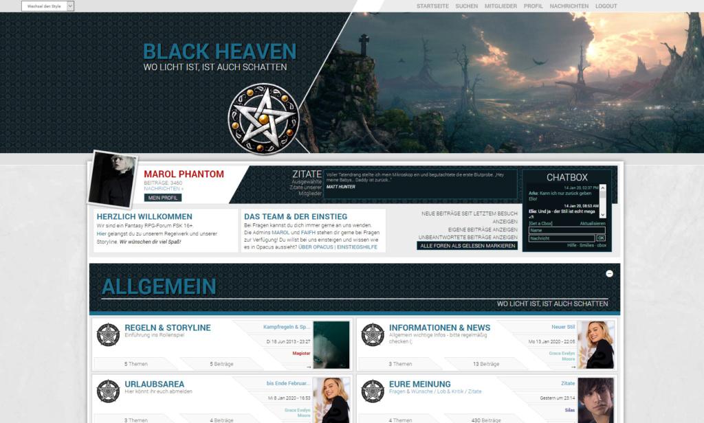 Black Heaven - Wo Licht ist, ist auch Schatten - Fantasy - FSK 16+ Screen11