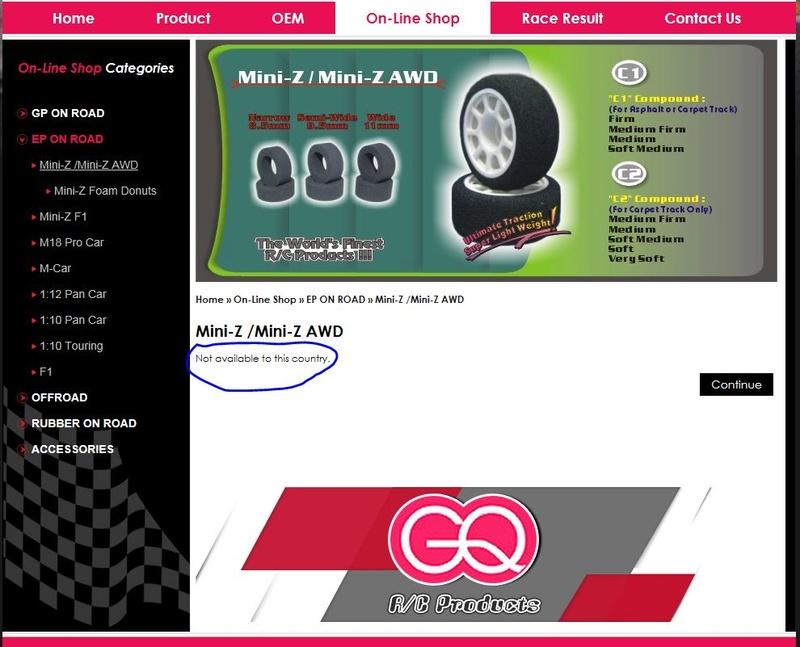 Ou trouver des pneus mousse Gq10