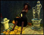 Poses d'halloween 1711