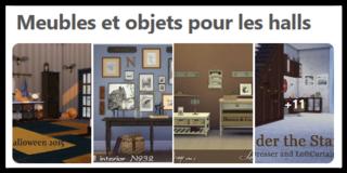 Meubles et objets pour les halls d'entrée Scree156