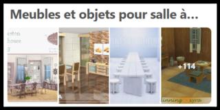 Meubles et objets pour salle à manger  Scree161