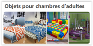 Objets pour chambres adultes Scree162