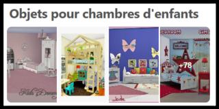 Objets pour chambres d'enfants Scree163