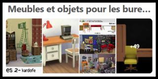 Meubles et objets pour bureaux Scree165