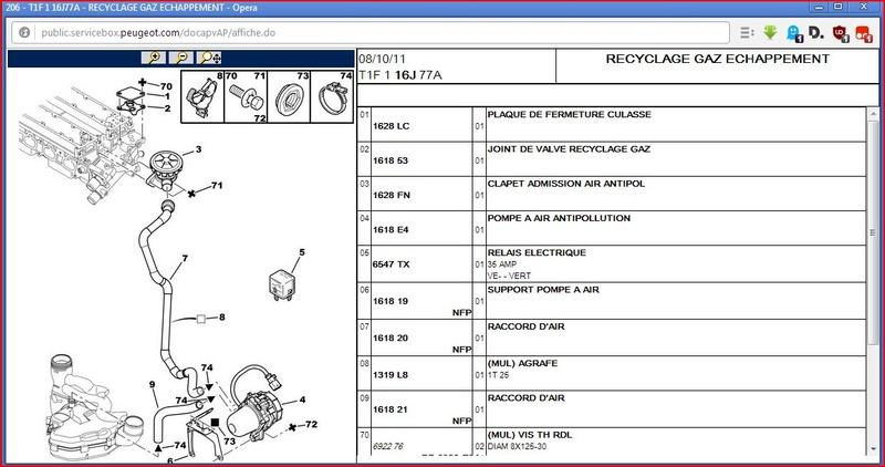 1.6 16s 8cv /110cv de 2003 : raté et démarrage difficile - Page 2 Captur10