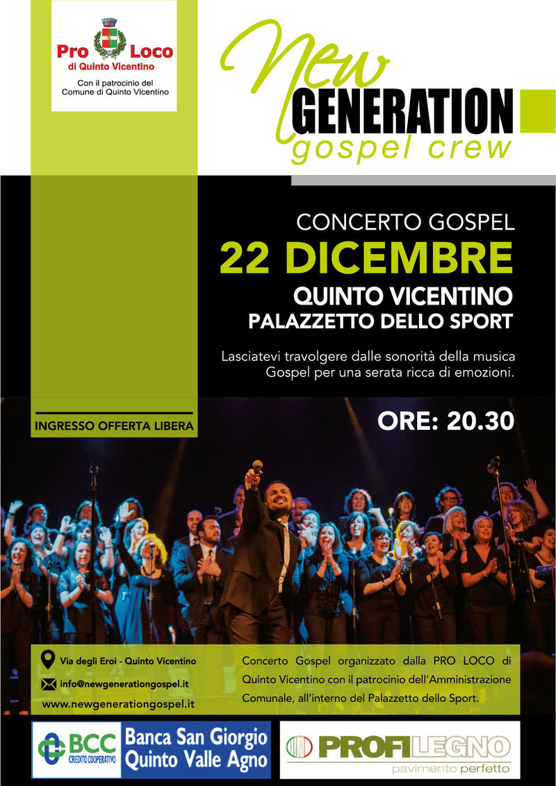 New Generation Gospel Crew in concerto a Quinto Vicentino Concer11