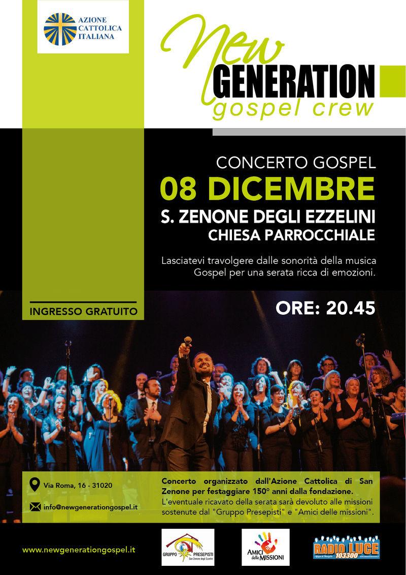 New Generation Gospel Crew in concerto a San Zenone degli Ezzelini Locand10