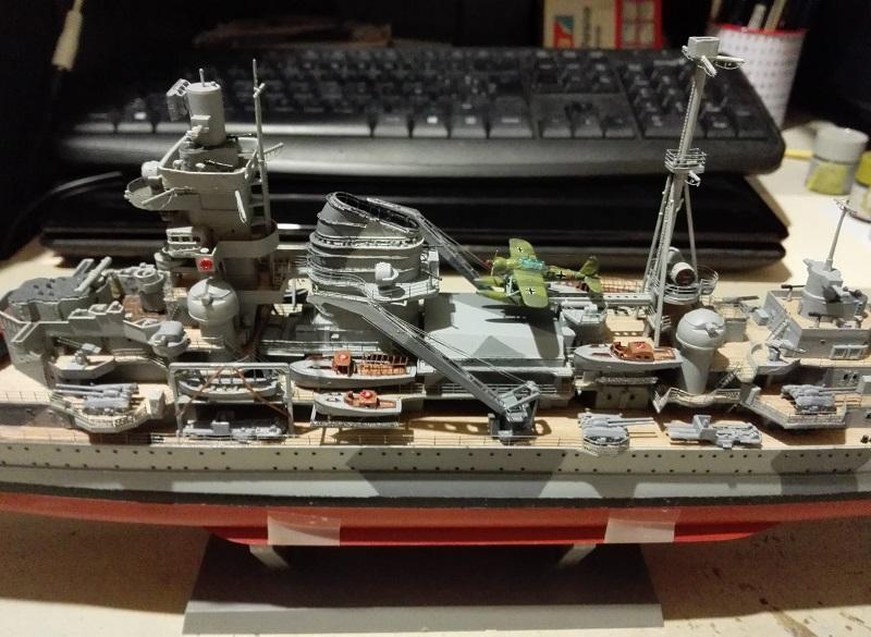 German Heavy Cruiser Admiral Hipper a 1/350 de Trumpeter Img_2020