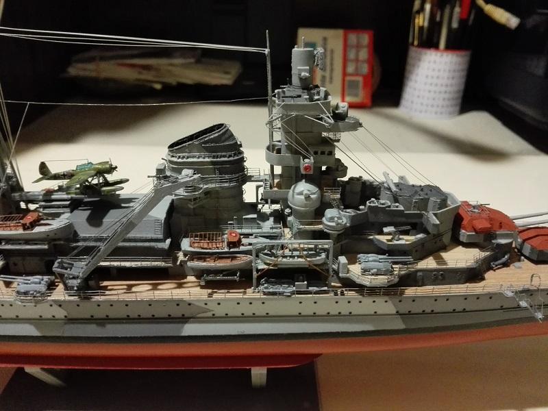 German Heavy Cruiser Admiral Hipper a 1/350 de Trumpeter Img_2027