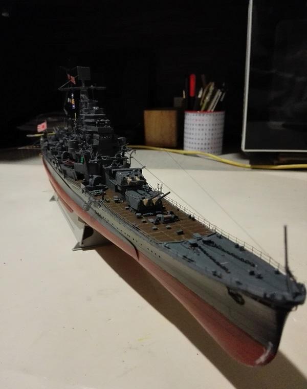 IJN Maya 1944 Japanese Navy Heavy Cruiser a 1/350 de Aoshima Img_2081