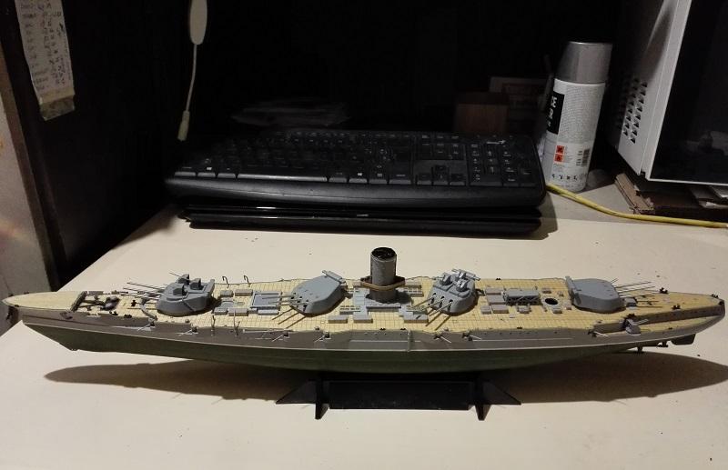 Soviet Battleship Marat a 1/350 de Zvezda Img_2103