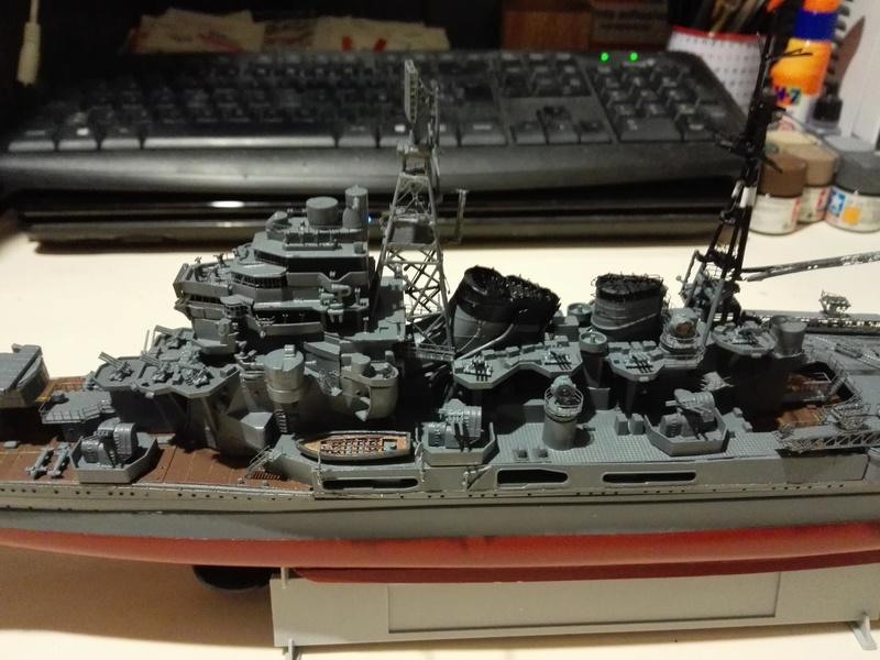 IJN Heavy Cruiser Maya 1944 de Aoshima a 1/350 Maya_i18
