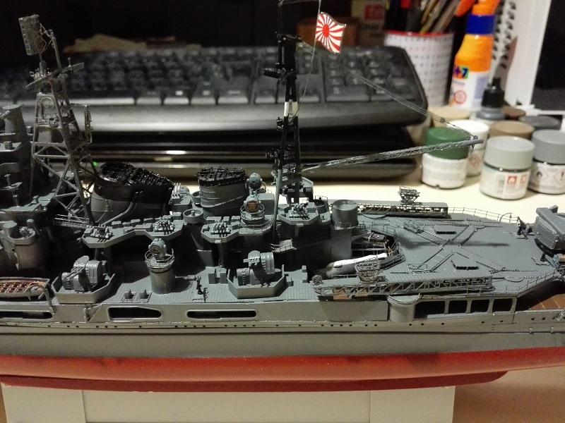 IJN Heavy Cruiser Maya 1944 de Aoshima a 1/350 Maya_i26
