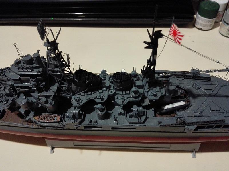 IJN Heavy Cruiser Maya 1944 de Aoshima a 1/350 Maya_i29