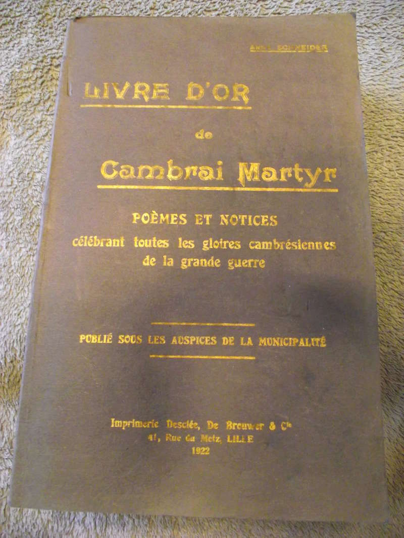 Livre d'or de Cambrai Martyr Livre_12