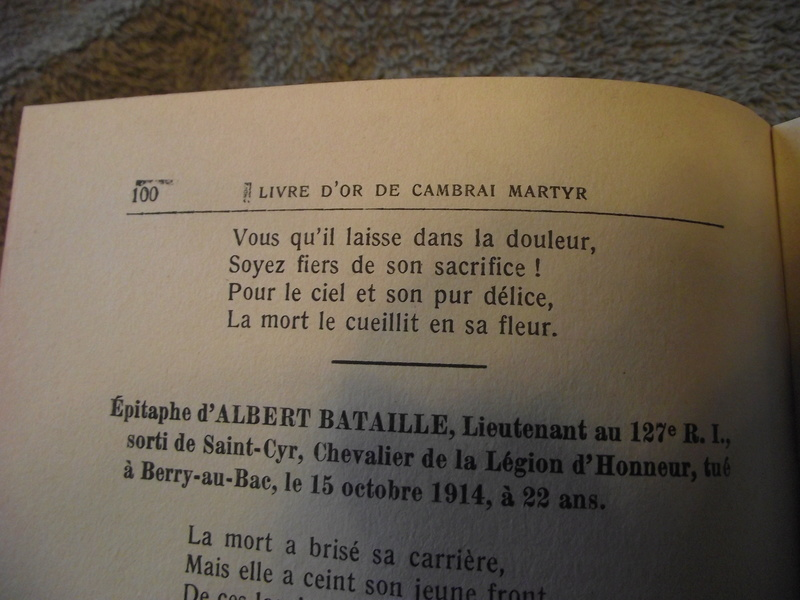 Livre d'or de Cambrai Martyr Livre_20
