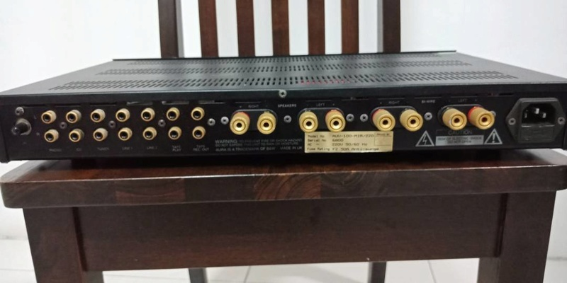 Aura evolution va100 integrated amplifier (sold)  Whatsa51