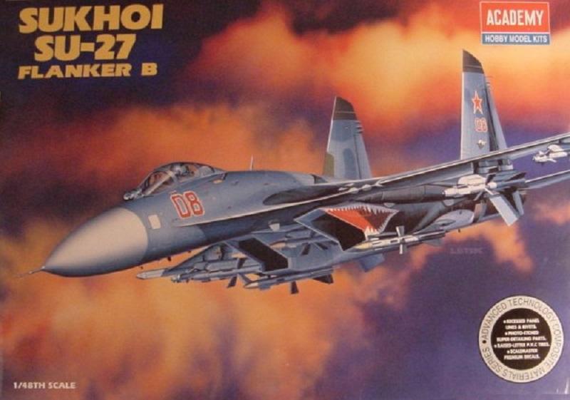 Academy Sukhoi Su-27 1:48 Norm 76 01_12