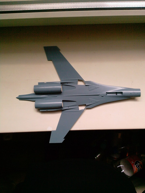 Sukhoi Su-27 / Academy, 1:48 09_10