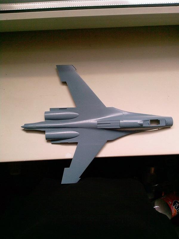 Sukhoi Su-27 / Academy, 1:48 10_10