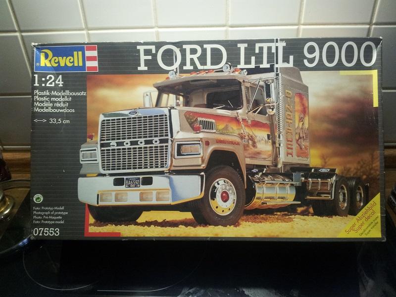 Revell Ford LTL-9000 1:24 20180310