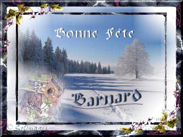 fête  à  souhaiter   - Page 6 Barnar10