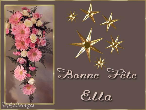 fête  à  souhaiter   - Page 6 Ella10