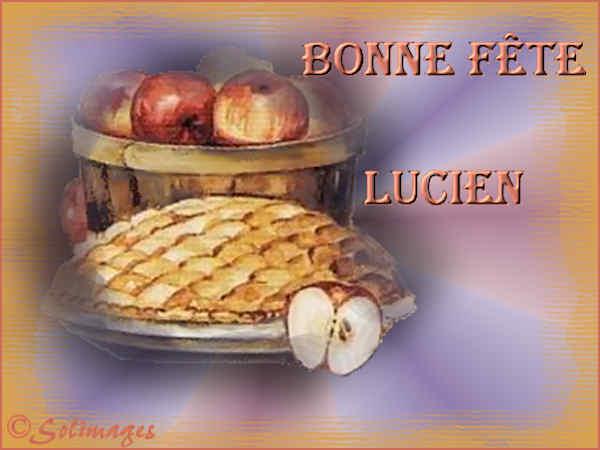 fête  à  souhaiter   - Page 4 Lucien10