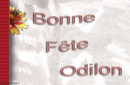 fête  à  souhaiter   - Page 4 Odilon10