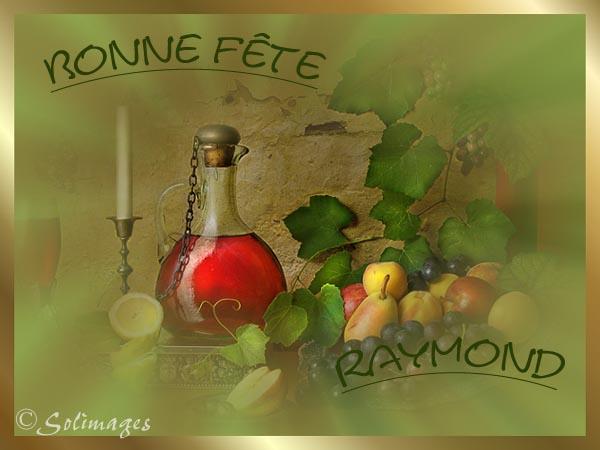 fête  à  souhaiter   - Page 4 Raymon10