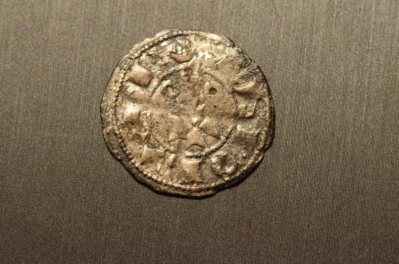 Denier de Catalogne, Comté de Barcelone pour Alphonse II d'Aragon ... Dsc_9714