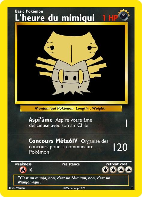 [Concours] L'heure du Mimiqui - Fakecard Pokemon Create10