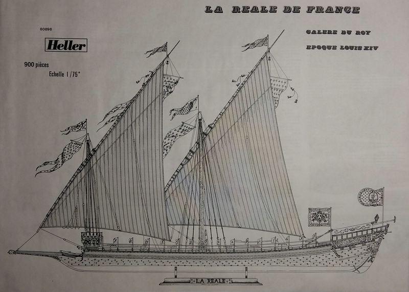 La Reale de France, Heller, 1/75 Comp_189