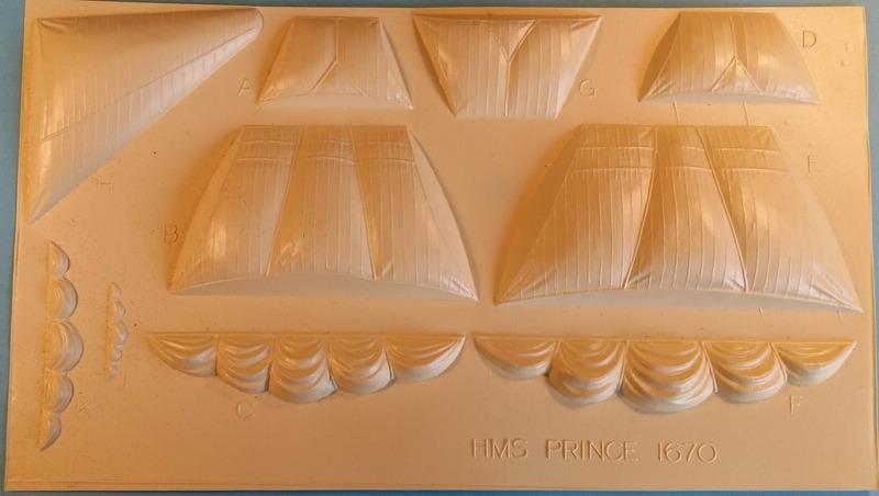 H.M.S. Prince 1670, Airfix 1/180 (09254) Comp_344
