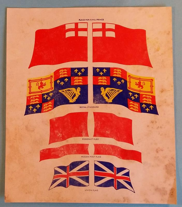 H.M.S. Prince 1670, Airfix 1/180 (09254) Comp_345