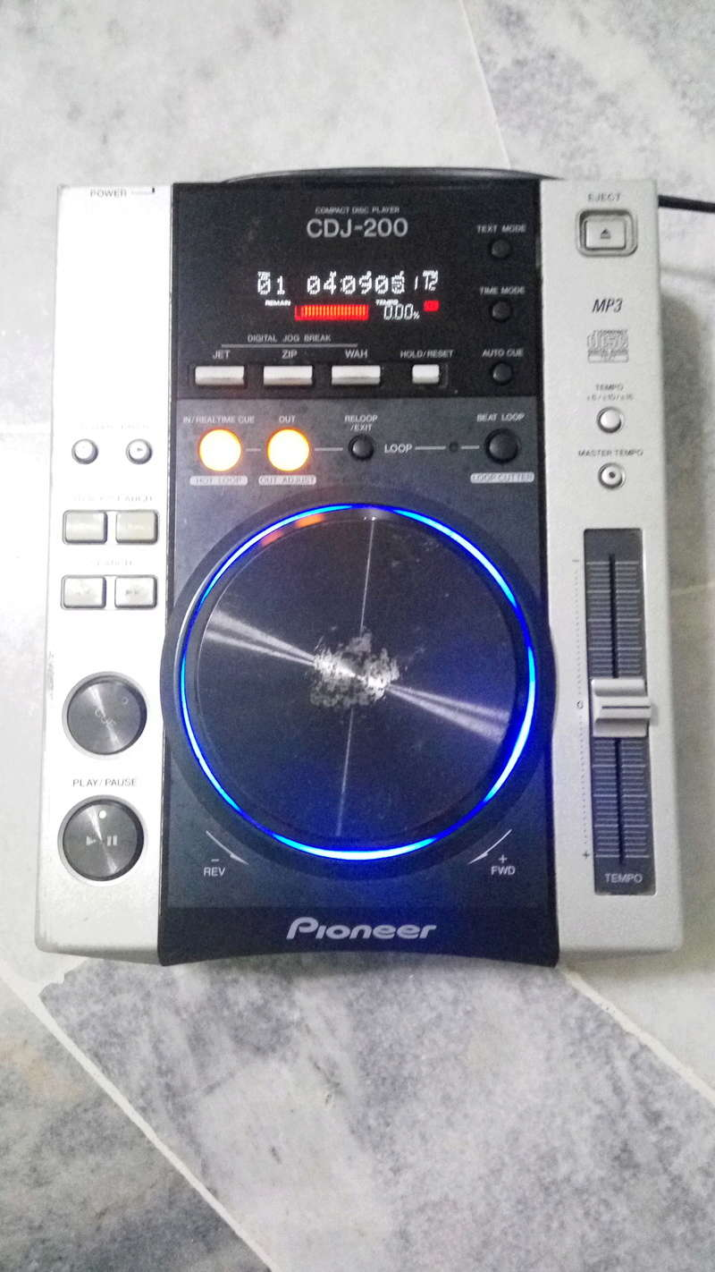 Pioneer CDJ-200 Img_2024