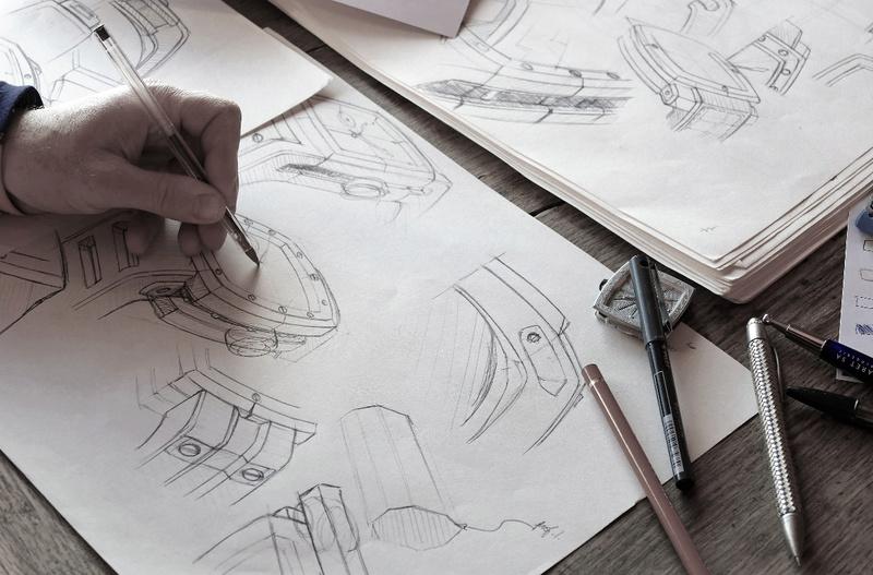 Nouvelle marque - etude de cas - Design industriel Dessin11