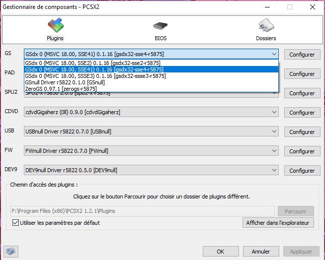 [Tuto] Configuration de PCSX2 pour avoir les meilleures performances 2_plug11