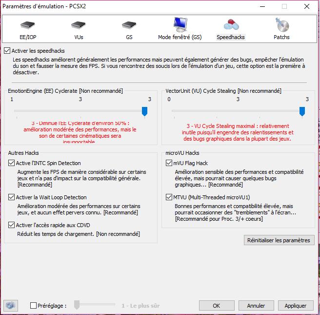 [Tuto] Configuration de PCSX2 pour avoir les meilleures performances 5_spee11