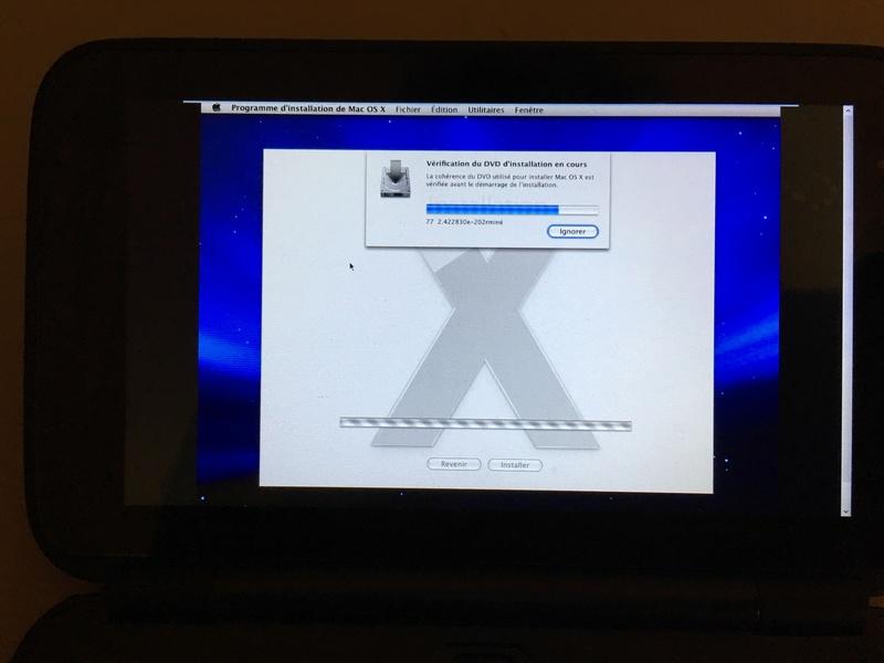 Mac OS X Léopard sur GPDWin 81a05410
