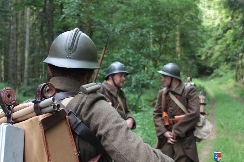 France 1940 - troupes en campagne. Img_6610