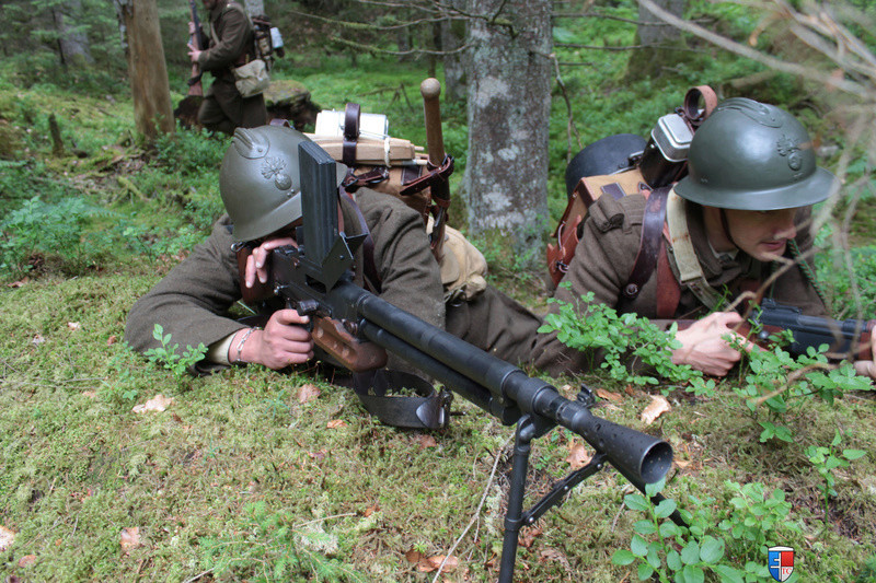 France 1940 - troupes en campagne. Img_6711