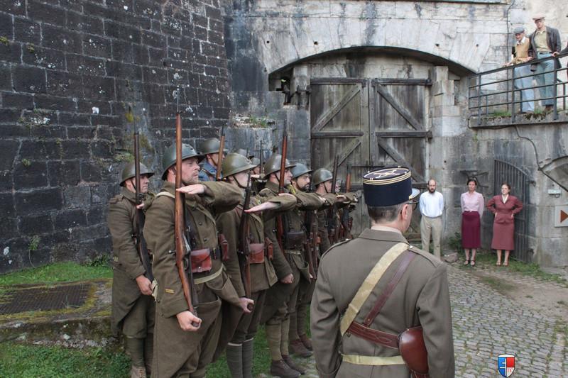 France 1940 - troupes en casernement dans la citadelle de Belfort. Img_7411
