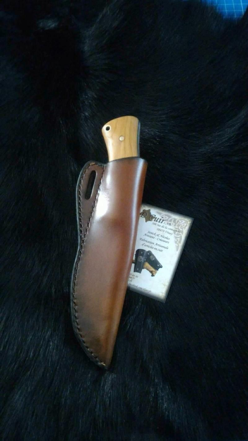 Le Taillefer®, un couteau d'archer. 10210