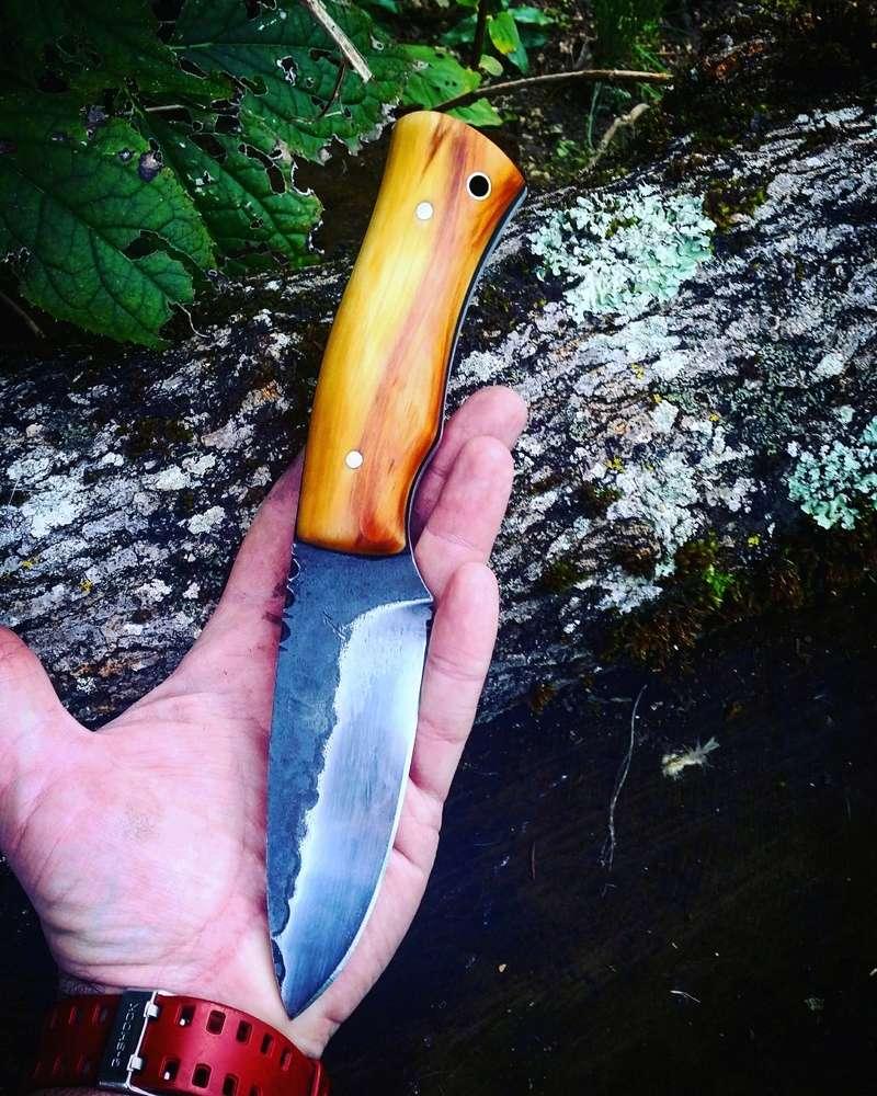 Le Taillefer®, un couteau d'archer. Alain_12