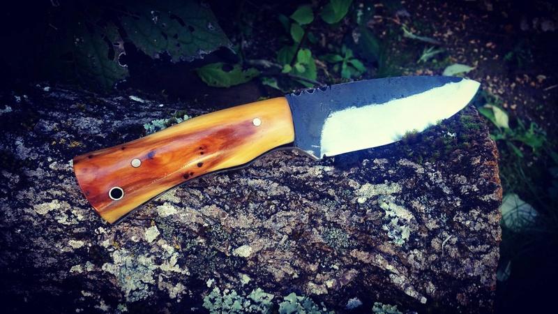 Le Taillefer®, un couteau d'archer. Sandra12
