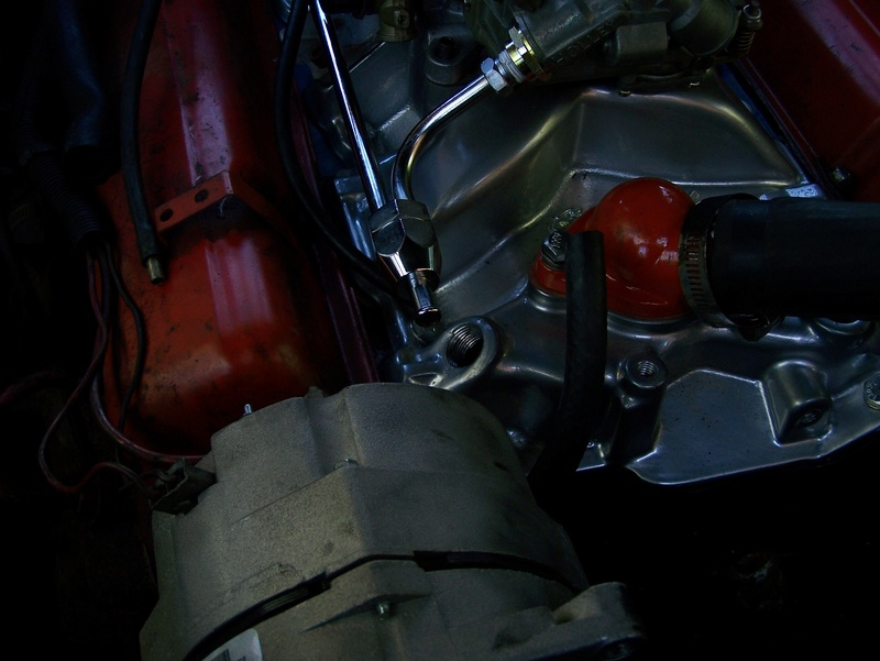 Holley, Edelbrock, Fuel Line and Heater Connection 100_0813