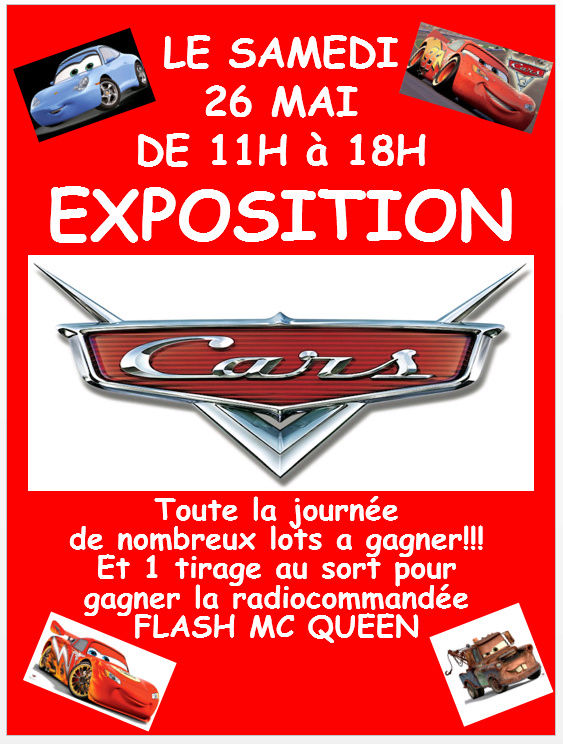 Exposition Cars Toys R Us Affich11